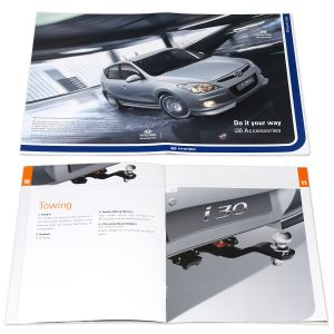 Photography and Brochures for Hyundai